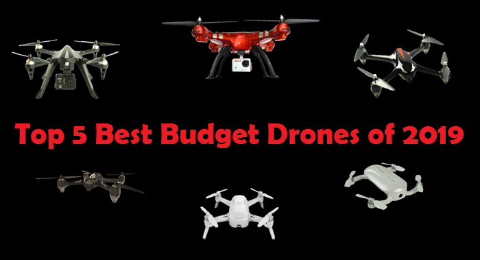 HomeNewsTop 5 Best Budget Drones of 2019
