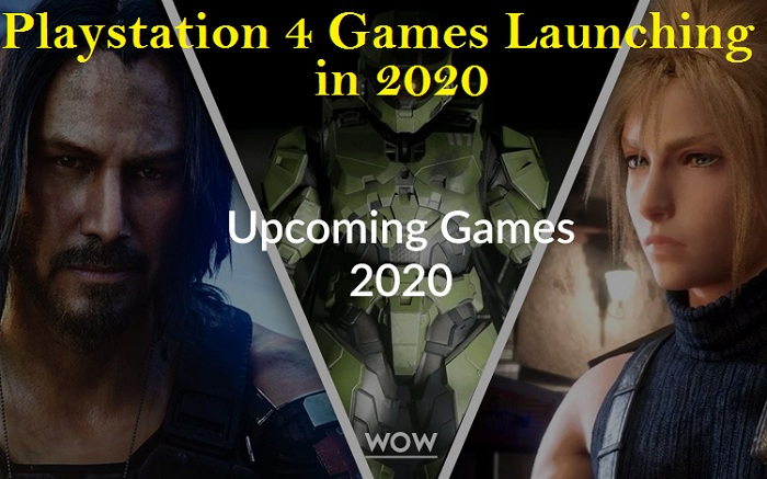 Playstation 4 Games Launching in 2020
