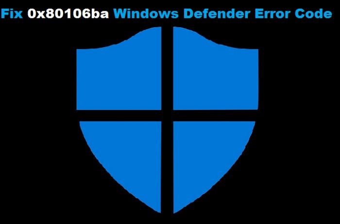 Windows Defender Error Code