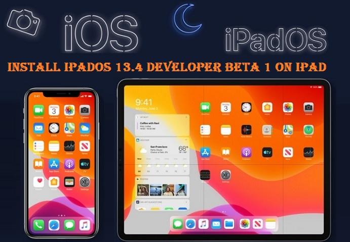 How to Install iPadOS 13.4 Developer Beta 1 on iPad