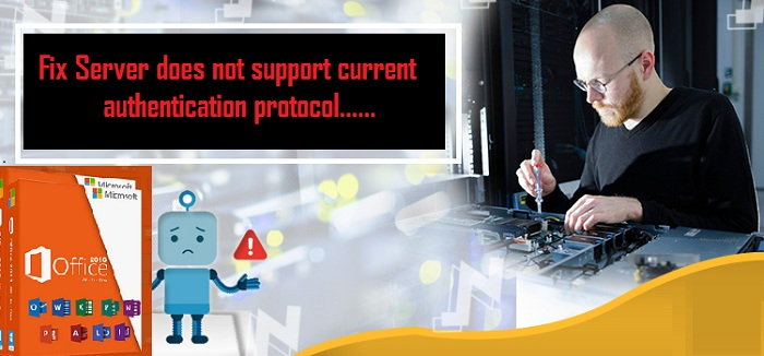 How to Fix Server does not support current authentication protocol